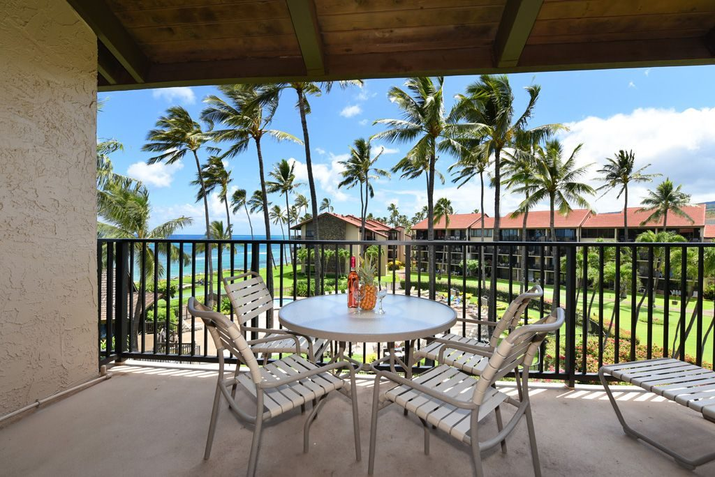 Beautiful Deck and View at Papakea from Paradise Living Properties